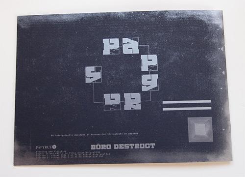 BD Papyrus Booklet