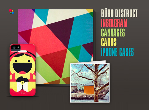 BD Instagram Canvases, Cards and iPhone Cases