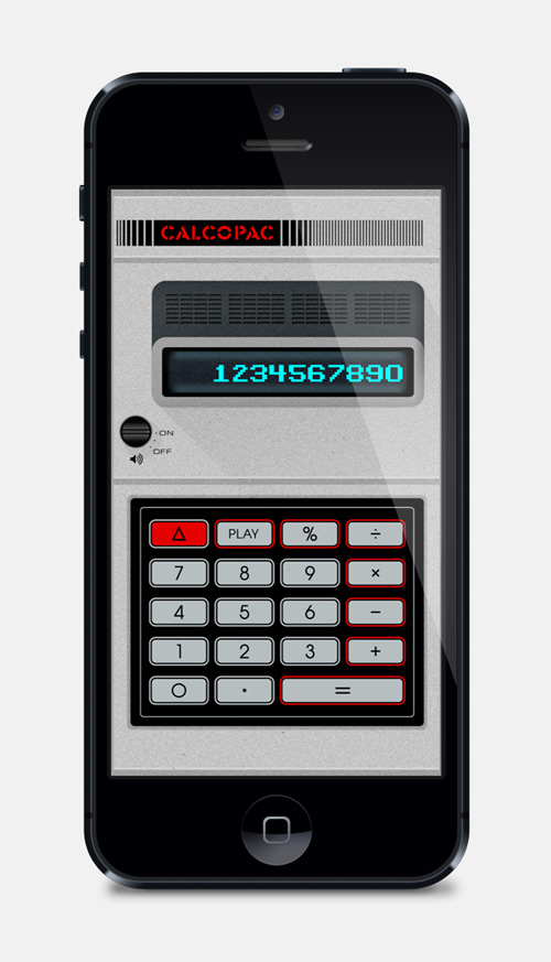 CALCOPAC for iPhone 5
