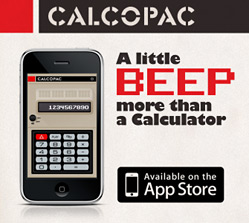 CALCOPAC iPhone App