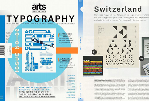 ComputerArts Collection Typography