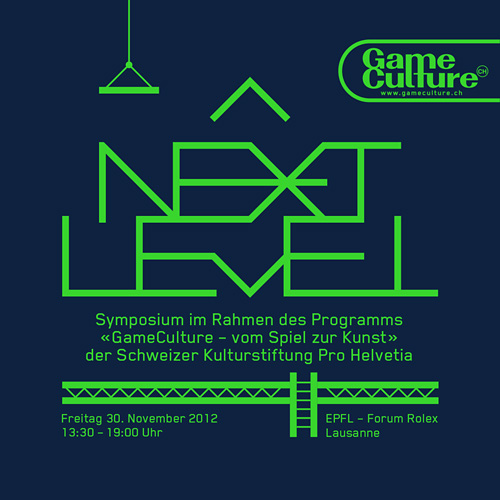 Game Culture Next Level Symposium identity