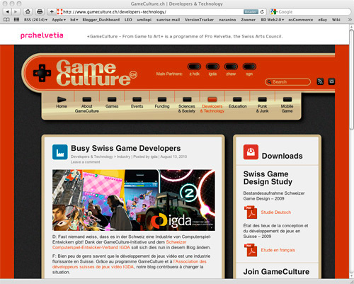 GameCulture website