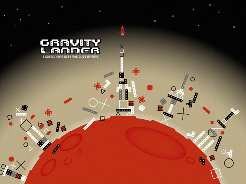 Gravity Lander Artwork