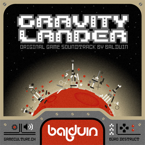 Gravity Lander Soundtrack Single Cover