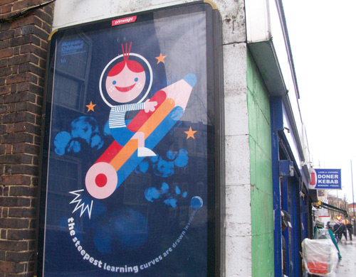 Büro Destruct Museum of Childhood poster in London