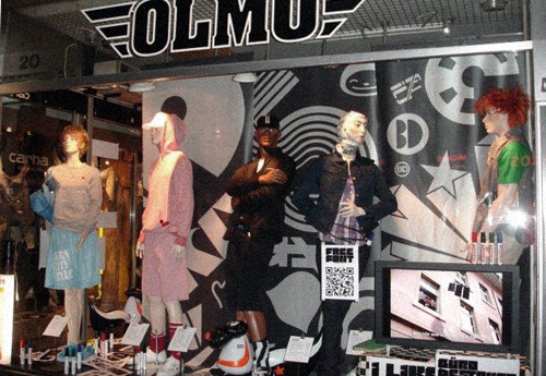 Olmo Edding shopping display