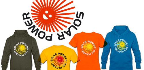 Solar Power Tshirts