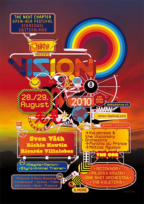 Vision Festival Poster 2010