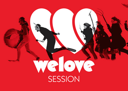 WeLove Session flyer
