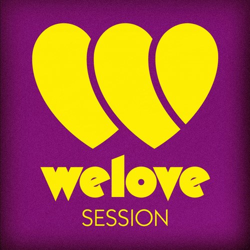 WeLove Session Logotype